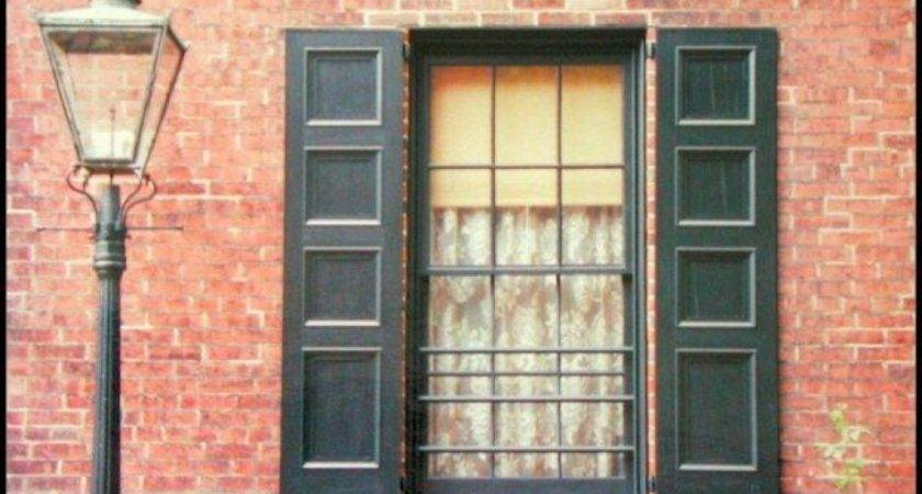 Exterior Window Shutters Wood Lowes