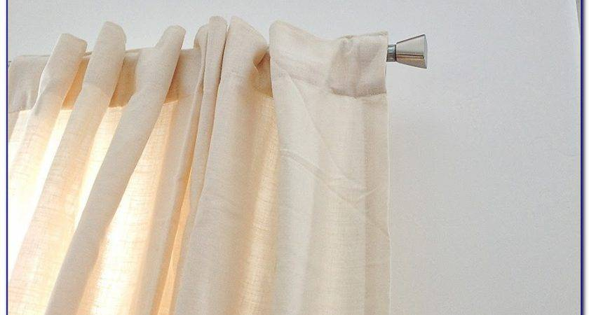 Extra Long Curtain Rods Chairs Home Decorating