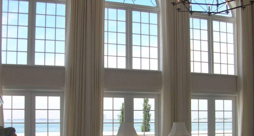 Extra Long Curtains Panels High Windows Loft