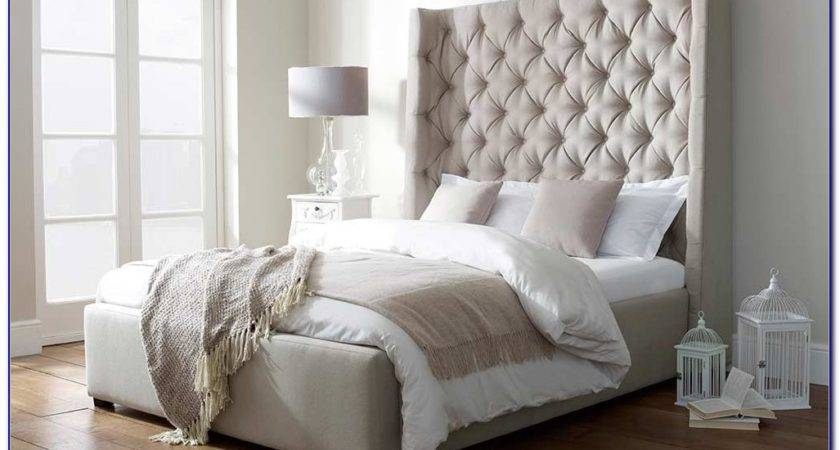 Extra Tall King Upholstered Headboard Home