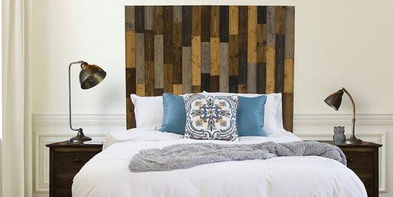 Extra Tall Solid Wood Forester Bed Headboard