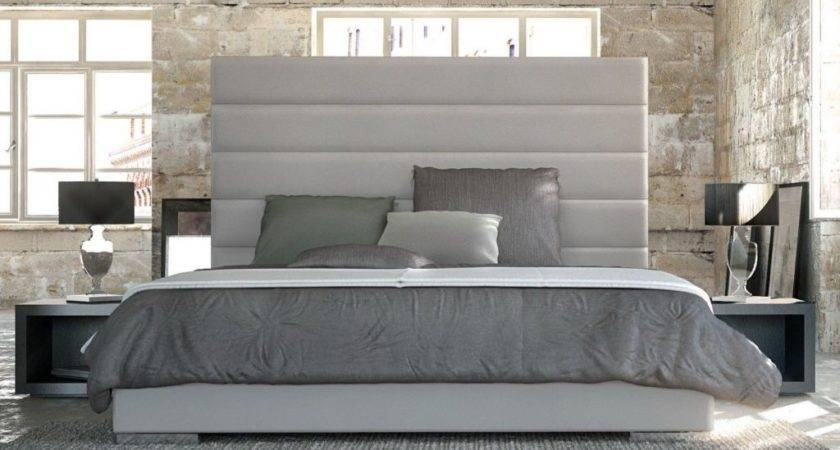 Extra Tall Upholstered Headboard Latest Queen