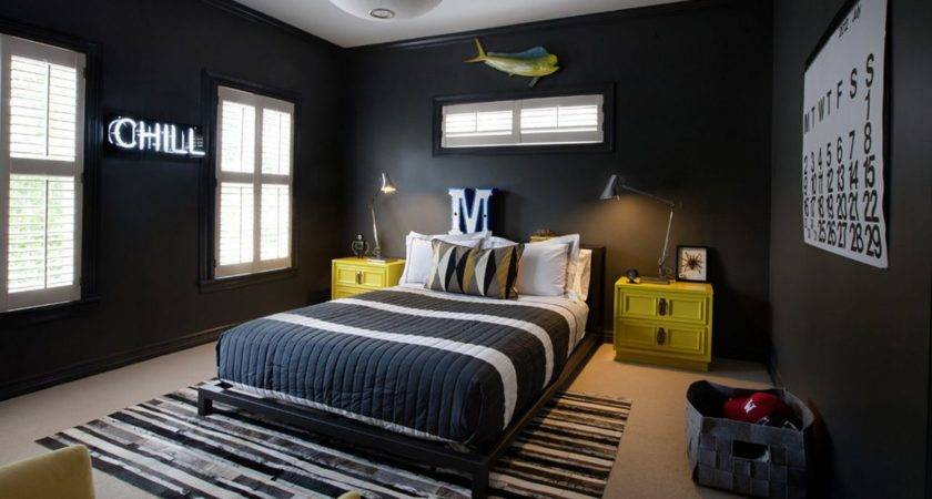Eye Catching Wall Cor Ideas Teen Boy Bedrooms