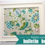 Fabric Covered Bulletin Board Homes Have Made