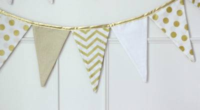 Fabric Pennant Banner Tutorial Girl Inspired