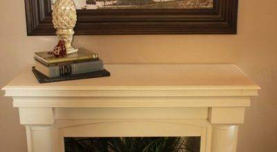 Fake Fireplace Mantel Shelf Designs