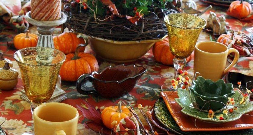 Fall Brunch Tablescape Thanksgiving Pinterest