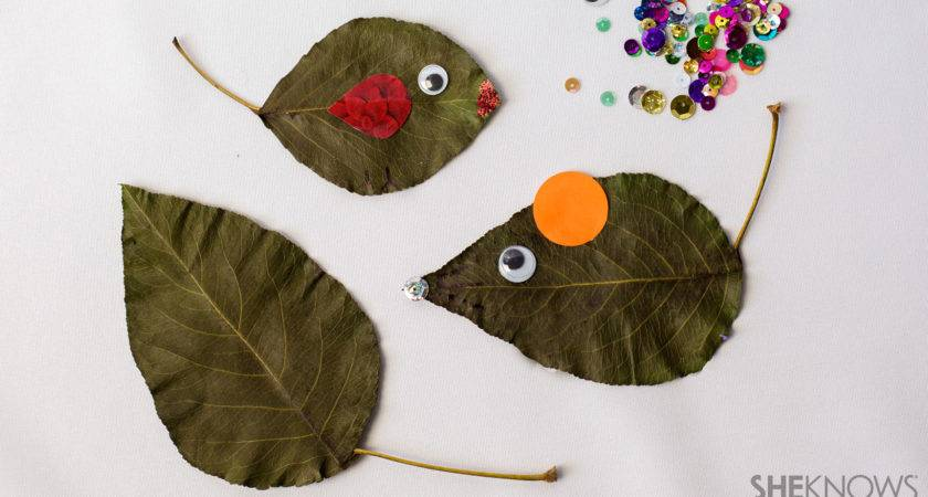 Fall Leaf Crafts Kids Hate Outdoors