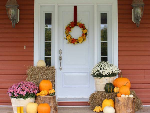Fall Porch Decorating Ideas Fynes Designs