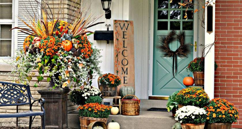 Fall Porch Decorating Ideas Ways Decorate Your