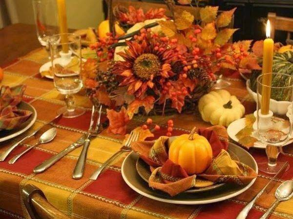 Fall Thanksgiving Tablescape Ideas