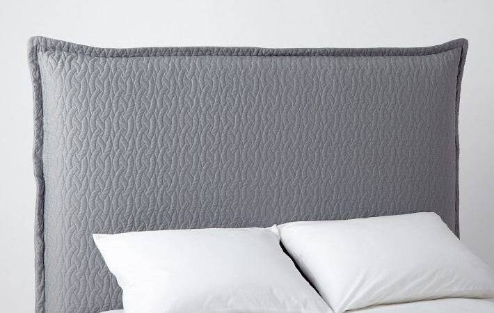 Fancy Matelasse Slipcover Headboard