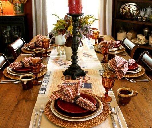 Far Above Rubies Autumn Tablescapes