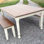 Farm Style Table Storage Bench Home Decorating Ideas
