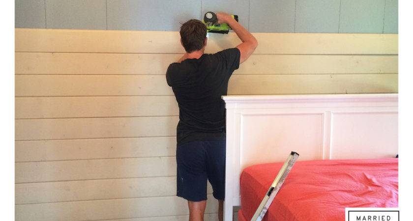 Farmhouse Detail Shiplap Walls Married Home