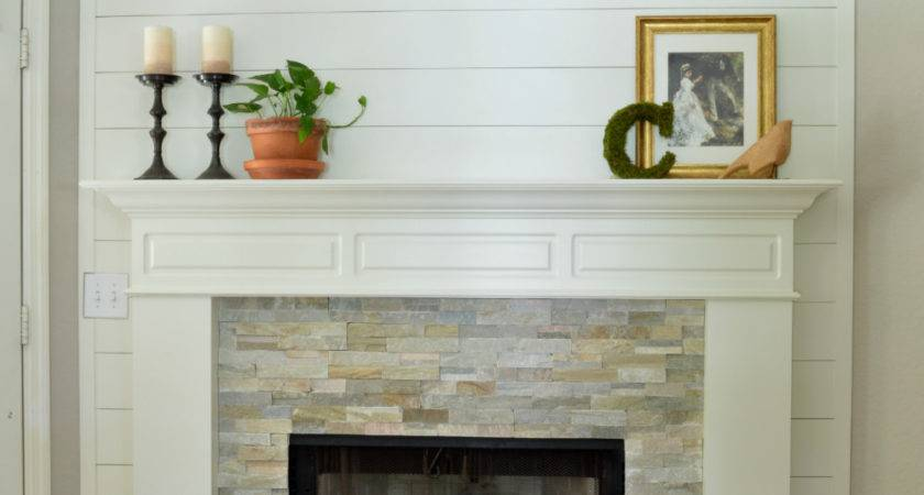 Farmhouse Fireplace Makeover Reveal Little Red Brick House