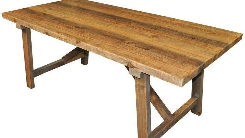 Farmhouse Rustic Recycled Timber Dining Table Buy