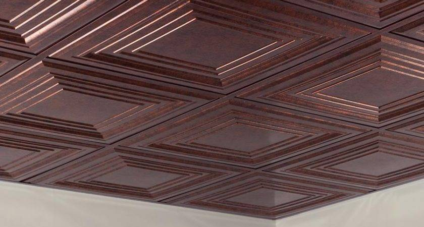 Fasade Ceiling Tile Suspended Traditional