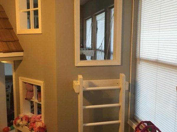 Father Builds His Kids Indoor Playhouse They Never