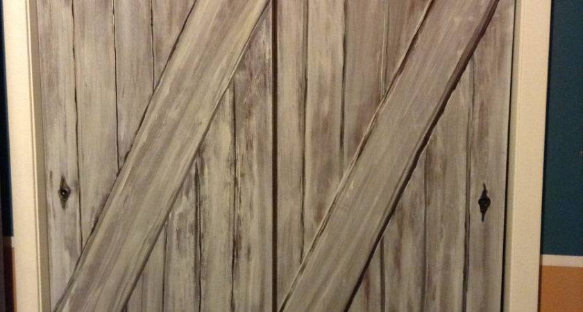 Faux Barn Door Tutorial Brigitte Blunders Brilliance