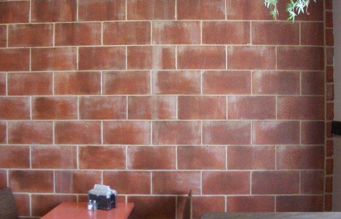 Faux Brick Wall Painting Tips Build House