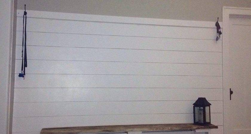 Faux Shiplap Diy Sharpie Painted