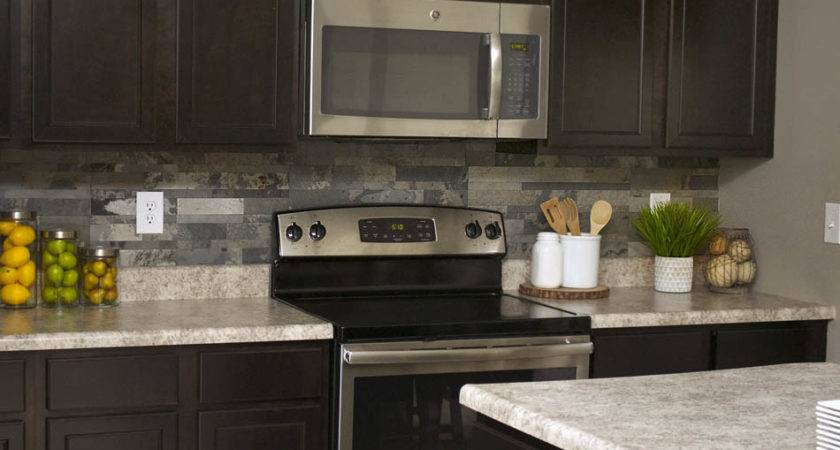 Faux Stone Kitchen Backsplash Nest Less