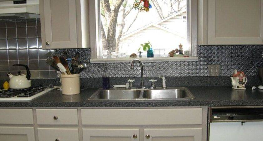 Faux Tin Backsplash Leon Texas Decorative Ceiling