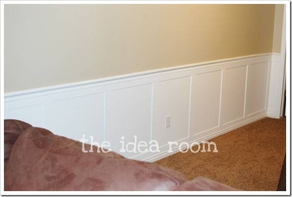 Faux Wainscoting Diy Version Idea Room