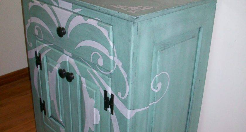 Feature Friday Refinished Desk
