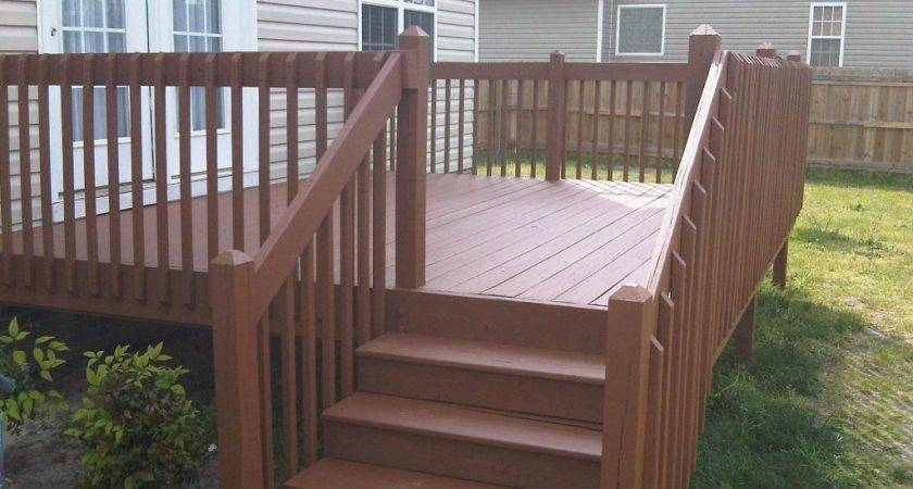 Fence Deck Staining