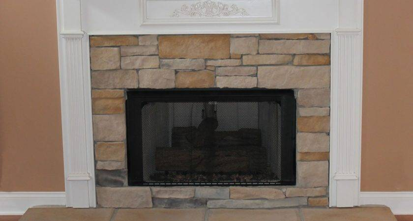 Ferrellgraph Stone Fireplace Makeover