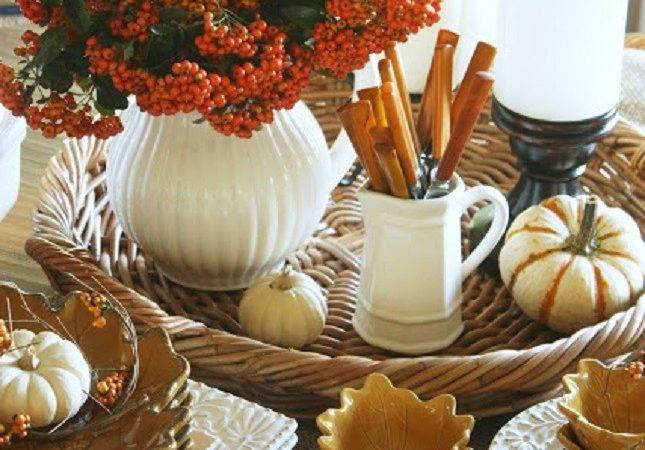 Festive Fall Tablescapes Best Friends Frosting