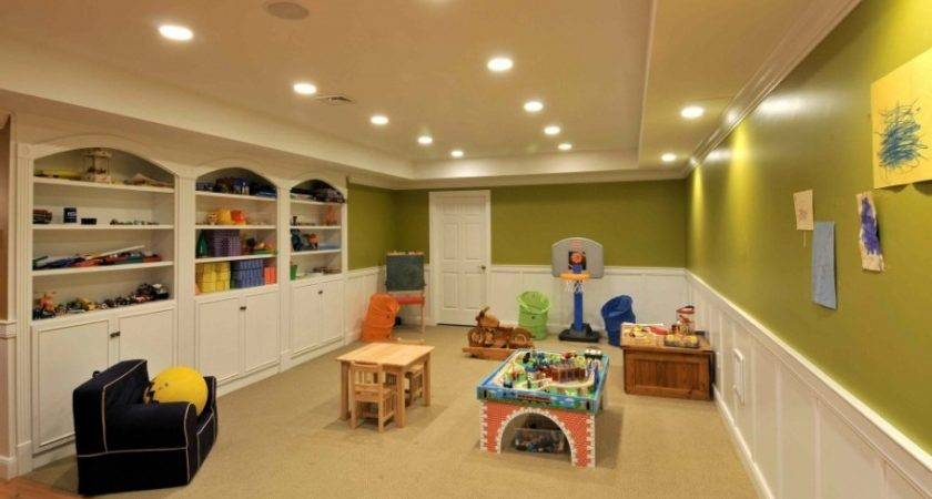 Finished Basement Ideas Proper Furnishing Worth