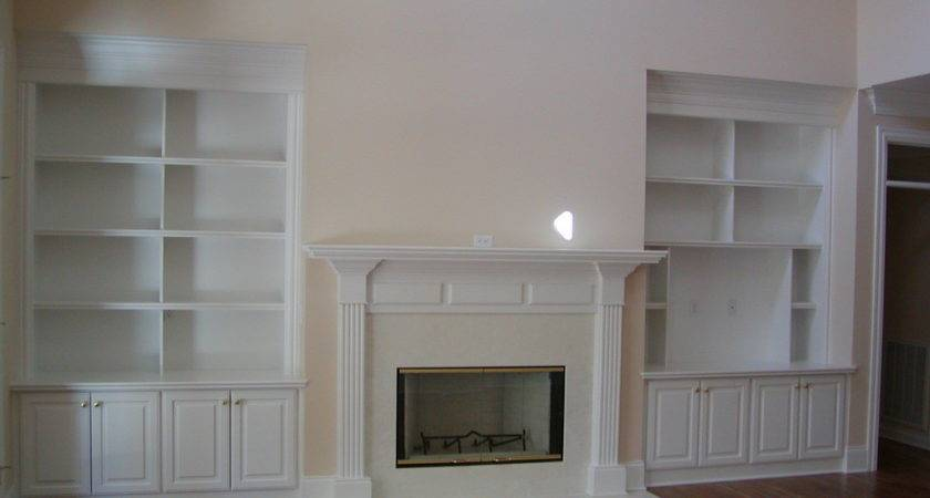 Fireplace Built Ins Traditional