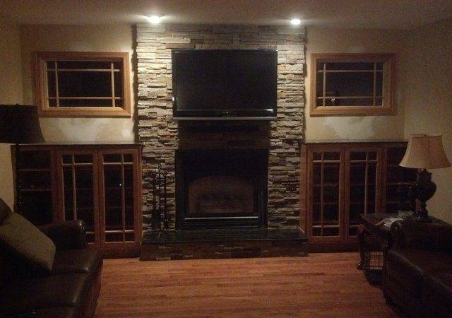 Fireplace Facelift Traditional Living Room Other