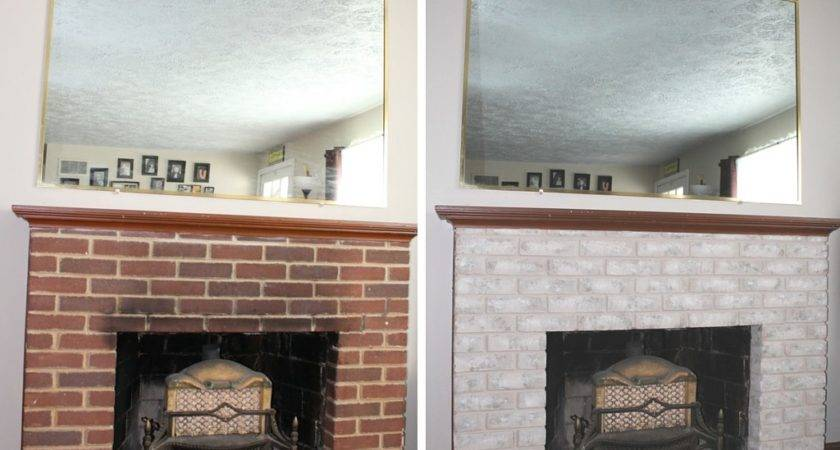 Fireplace Makeover Small Town Rambler