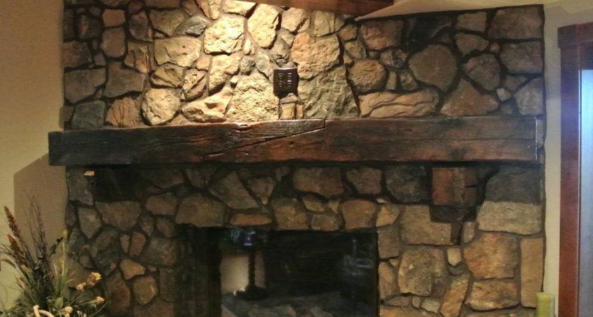 Fireplace Mantel Beam Exciting Model Window New