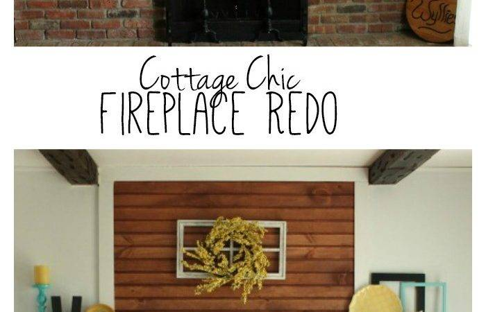Fireplace Redo Before After Made Momma