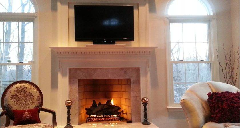 Fireplace Remodel Before After Pics Redecorating
