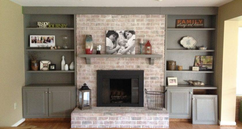 Fireplace Remodel Pinterest Brick Fireplaces