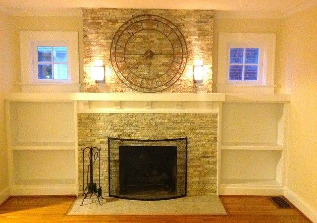 Fireplace Remodel Traditional Living Room