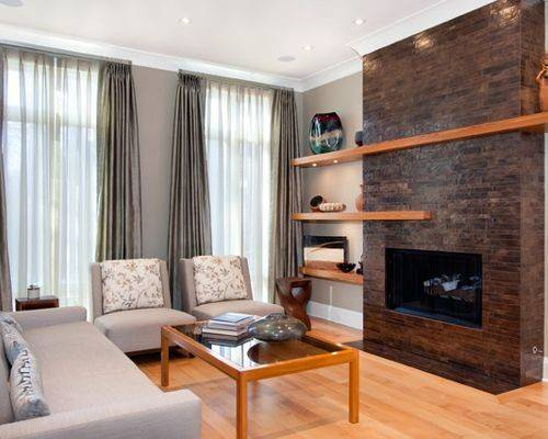 Fireplace Shelving Home Design Ideas Remodel
