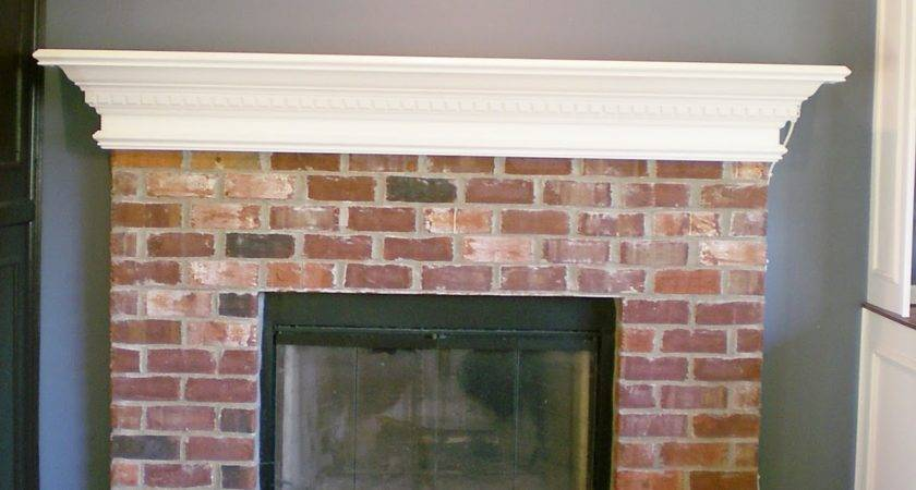 First Project Whitewash Brick Love Cleverly