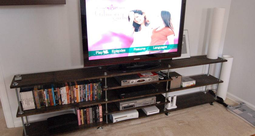 First Time Furniture Builders Tackle Media Console
