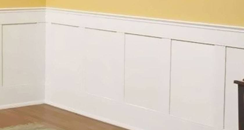 Flat Panel Wainscot Paneling Wainscotting Shop Diy