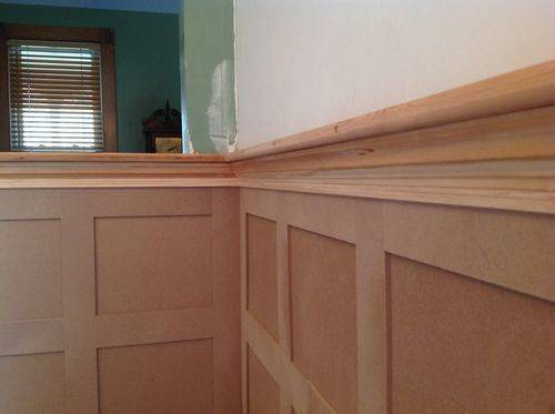 Flat Panel Wainscoting Room Goes Final