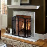 Floating Fireplace Mantels Make Modern Wood