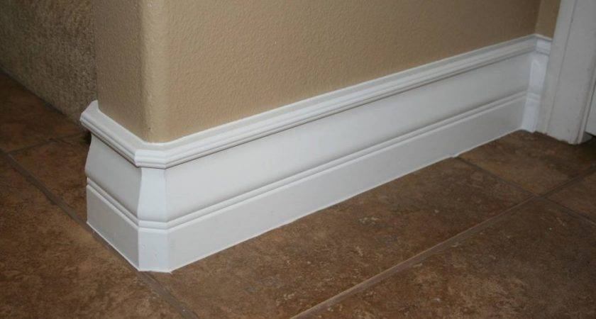Floor Molding Types Trim Around Bathtub