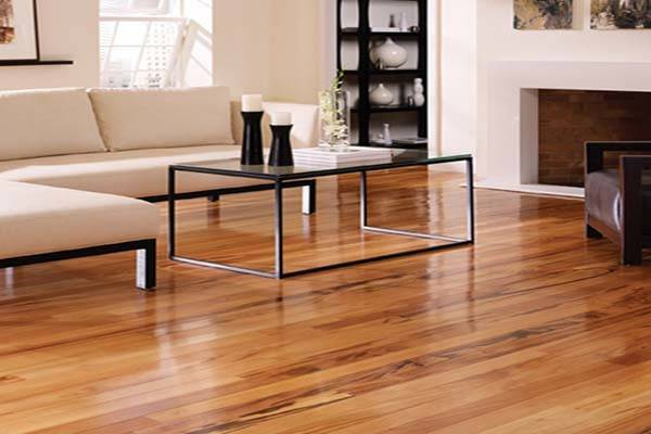 Flooring Tiger Wood Beautify Your Living Room
